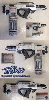 The Thing MacReady Flamethrower Nerf Rayven Mod