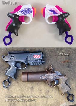 Nerf Rebelle Power Pair steampunk / modern pistol