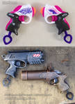 Nerf Rebelle Power Pair steampunk / modern pistol