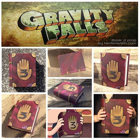Gravity Falls book 3 prop by GirlyGamerAU