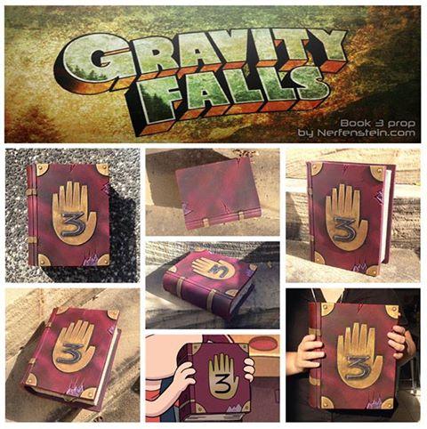 Gravity Falls book 3 prop