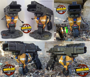 Borderlands Claptrap Nerf mod Display - CL4P-TP by GirlyGamerAU