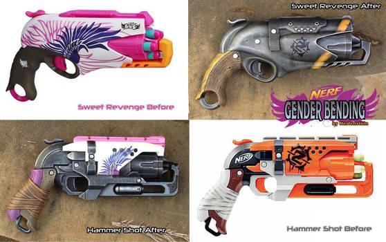 Nerf Rebelle Gender Bending - Hammershot Revenge