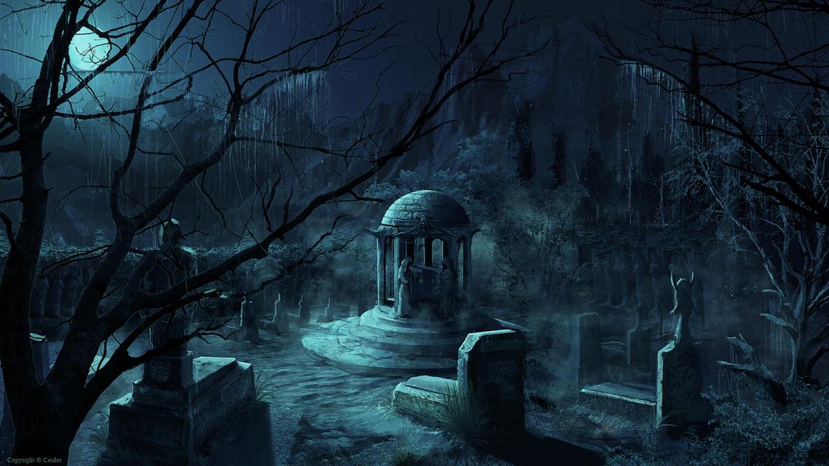 Cimetière The_cemetery_by_tamerr-d35nitz