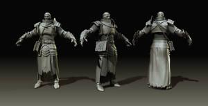 Warhammer The Warrior Priest by karatastamer