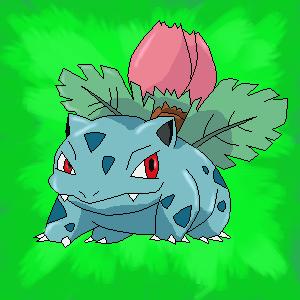 002 - Ivysaur by Orangebandguy