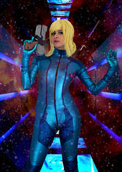 Samus Aran, Metroid by Werbellia