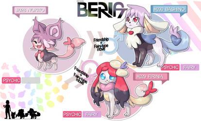 Fakemon Region BERIA - singing cat by MiceAlbinoska