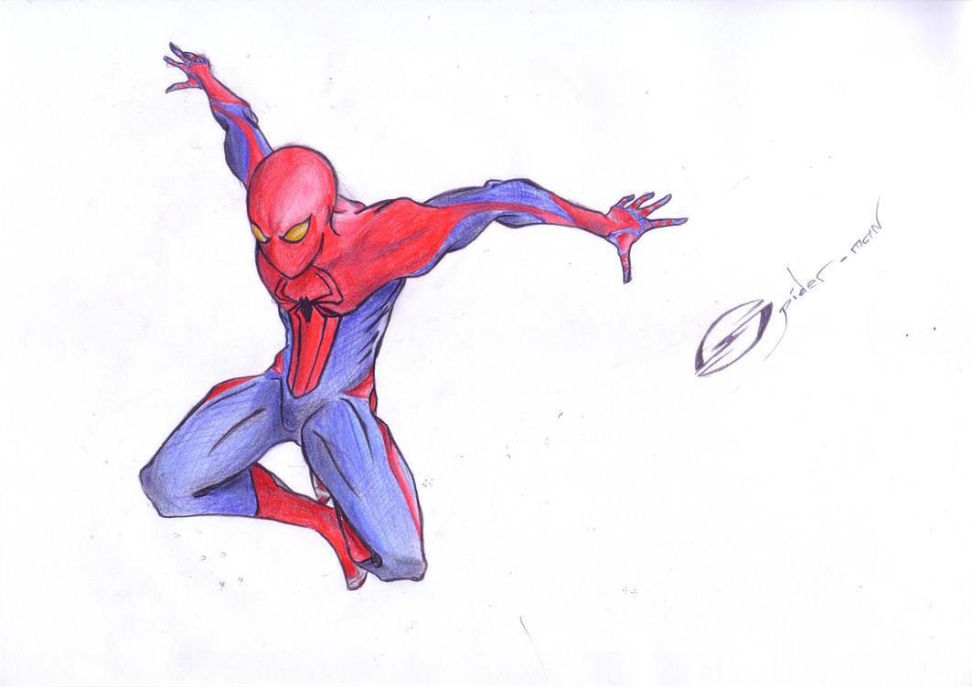 The amazing spider man work in progress part 2 by mrsteph06220 on deviantart - Spiderman 1 dessin anime ...