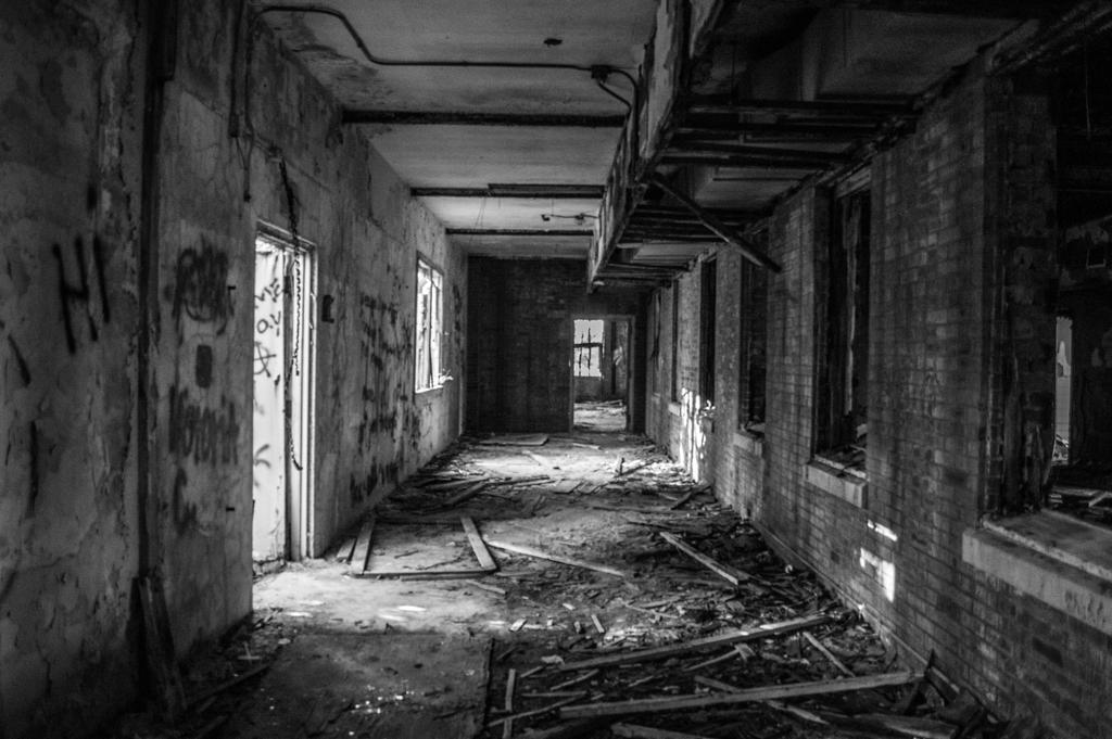 Abandoned Mental Hospital by Paper-Foxx on DeviantArt