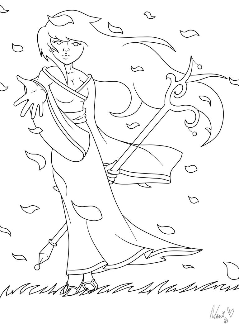 Windy Coloring Sheet Coloring Pages