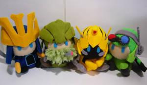 AOE Autobots plushies