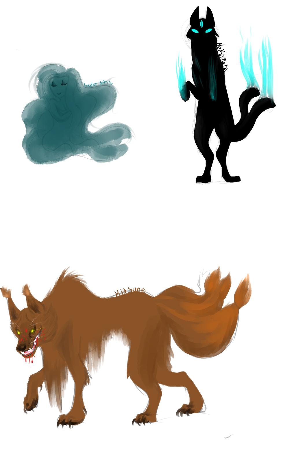 kitsunes_and_sprites_and_nekomatas_oh_my