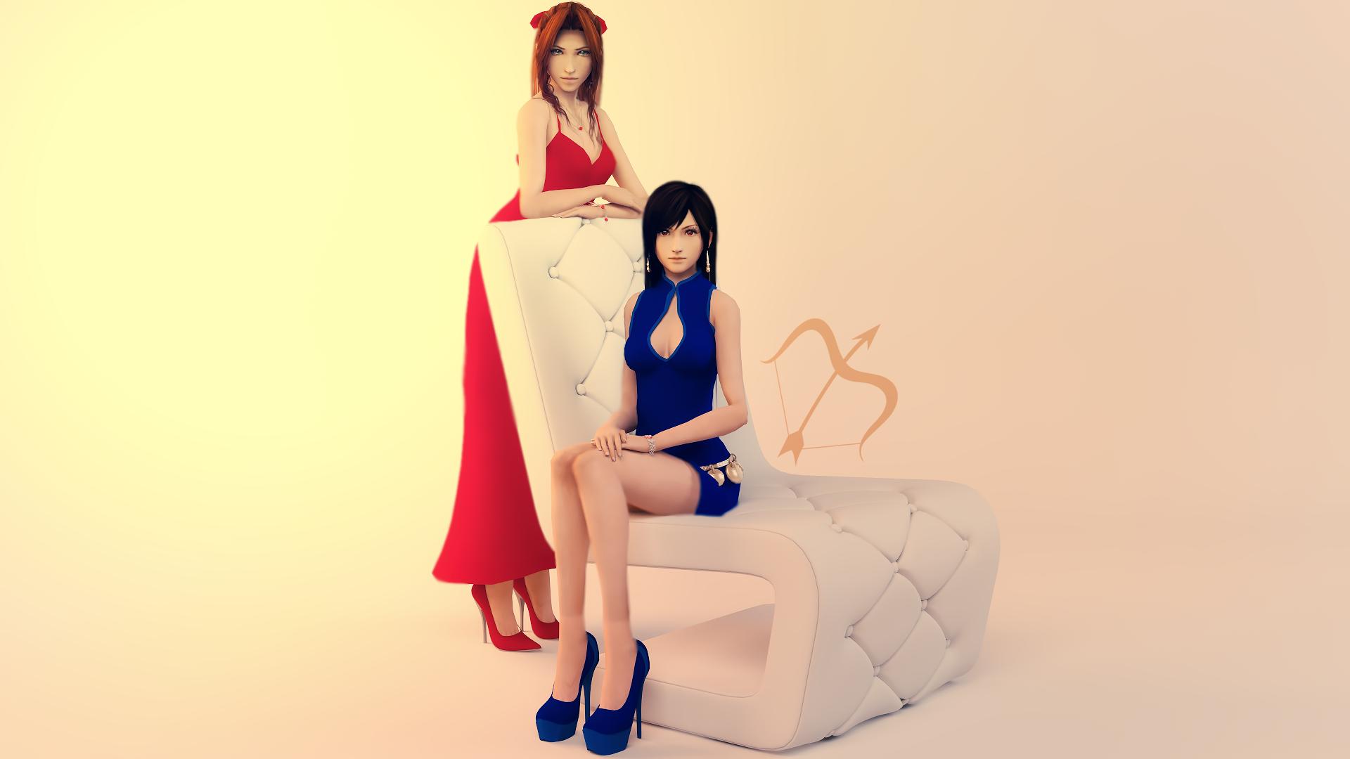Chair Girls by Sreliata
