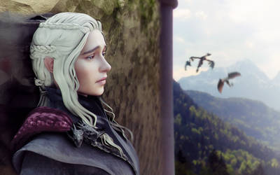 ! Daenerys - heartfelt losses ! by Sreliata