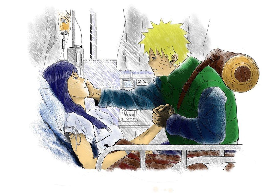 Naruto And Hinata Hospital By Strawberrydeathgum On Deviantart