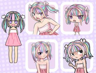 Pastel Girl challenge by tonikenjy