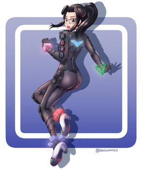 PlayStation 4 Girl