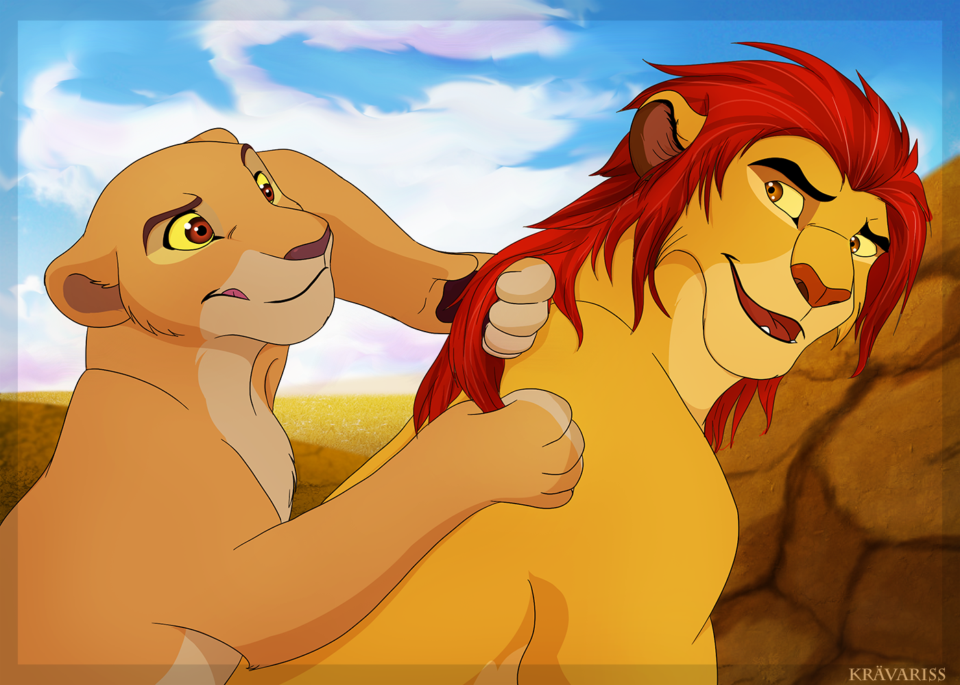 playing_with_brother_s_mane_by_kravalioness-dcadbwl.png
