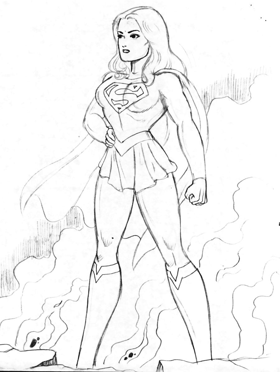 supergirl movie 1 by rogelioroman