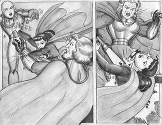 superwoman in apokolips by rogelioroman