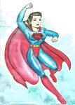 superwoman fleisher art by rogelioroman