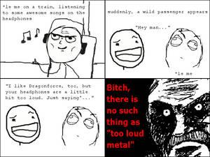 Good Metal Is Loud Metal