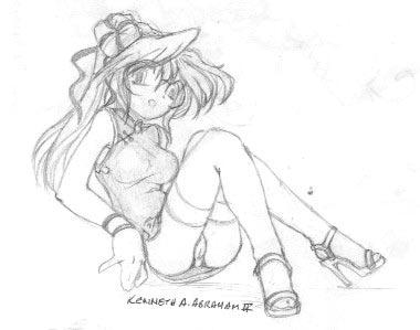 random girl 05 by Moonlight-Rune