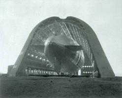 Macon inside Hangar One by FCARVALLO