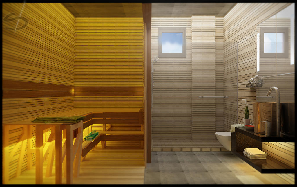 Sauna, Shower By Nettonik ...