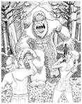 'Squatch Attack - Ink