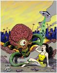 Invasion of the Astro Brains! - Color