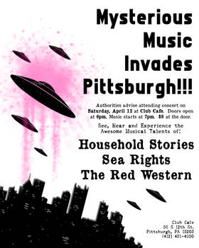 Mysterious Music Invades Pittsburgh!!!
