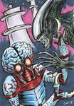 Metaluna Mutant vs Xenomorph