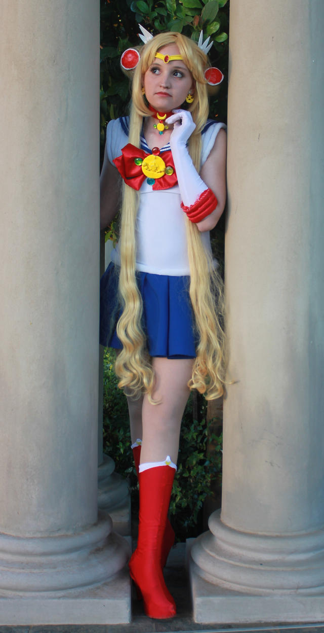 Sailor Moon has arrived! by BluePixieKimiko