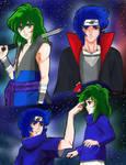 Ikki y Shun version Naruto by Selitte