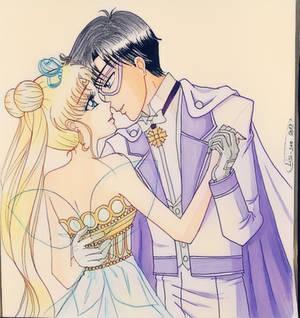 Neo Reina Serenity y Rey Endymion