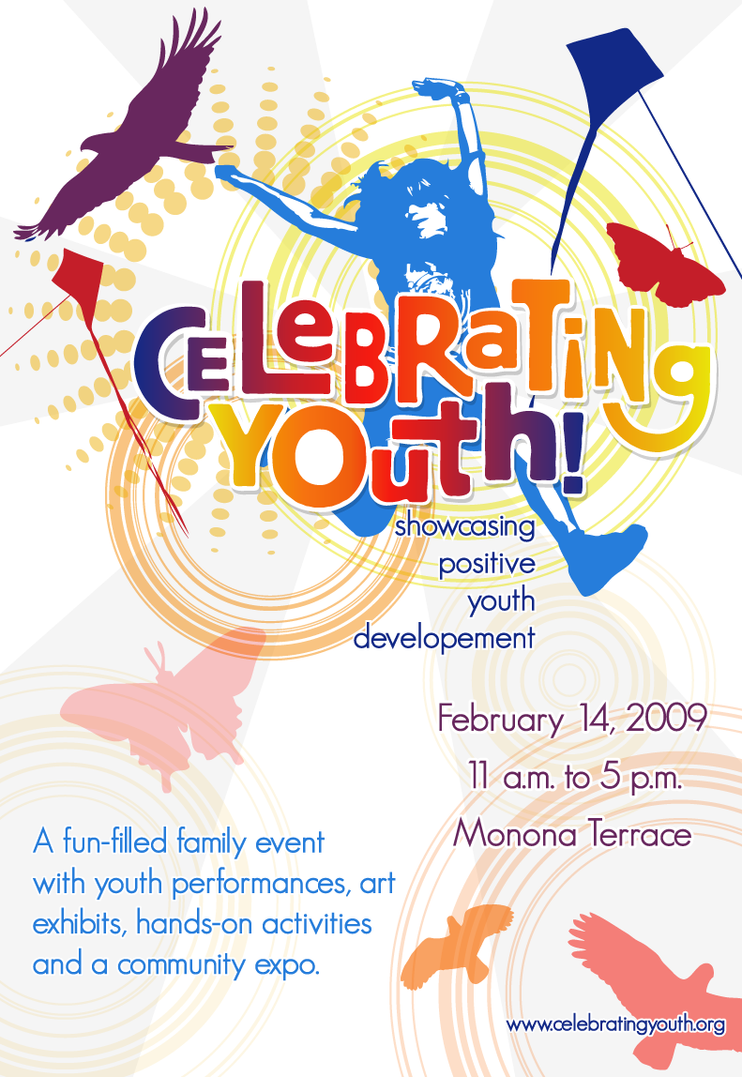 Poster design for youth - Celebrating Youth Poster By Twiggaloo