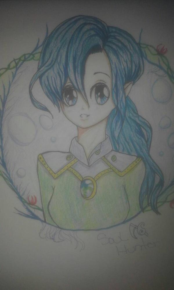 My OC Mizuki by Soulhunter98