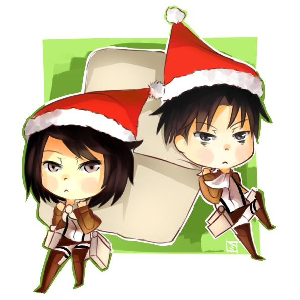 Santa Hats by Mitchi-ru