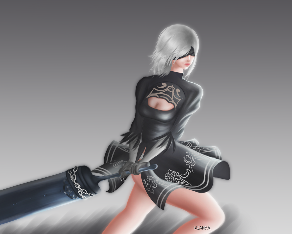 2B from Nier Automata by Talanya