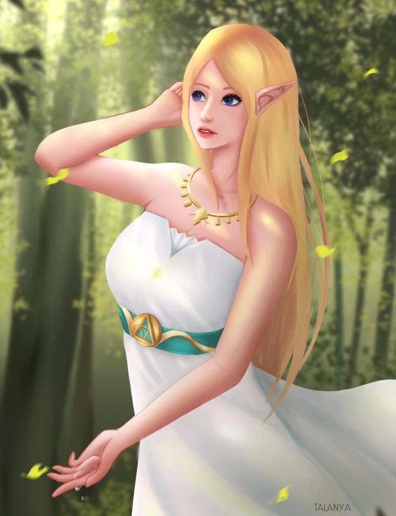 Zelda : Breath of the Wild by Talanya