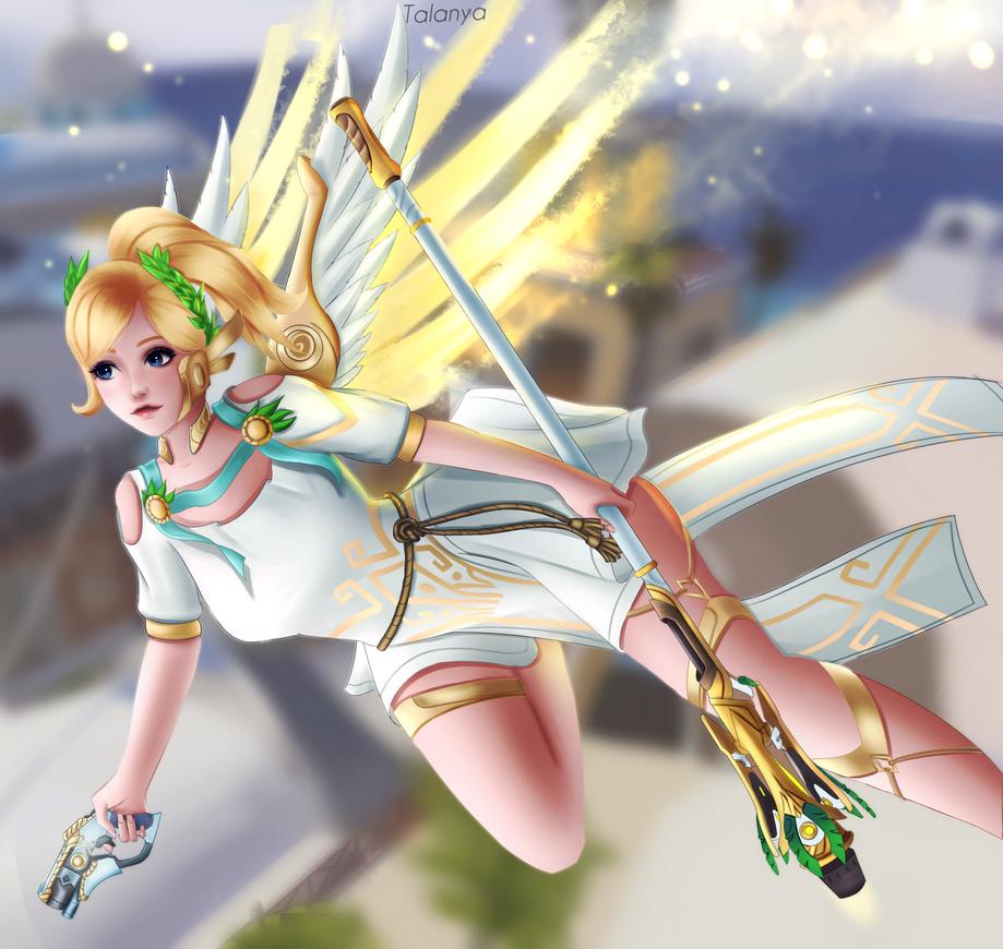 Mercy ~ Winged Victory by Talanya