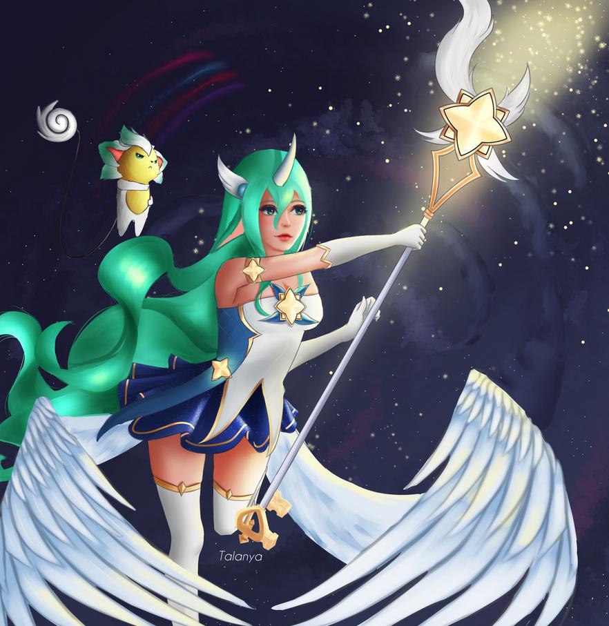 Soraka ~ Star Guardian by Talanya