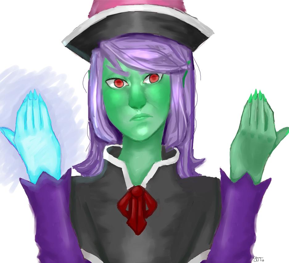 Sir-Knite Request - Erika The Witch by meramera08