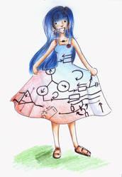 The Circuit Dress by Irin