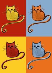 Warhol kittens