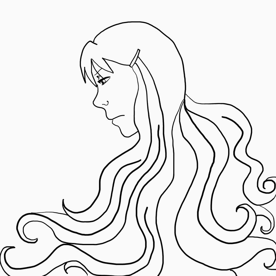 Aster Mom LineArt by AsterUchiha