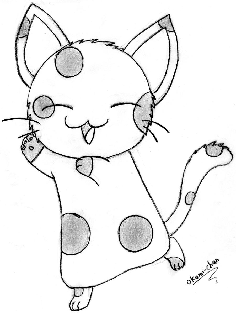 kitty cat free coloring pages - photo #48