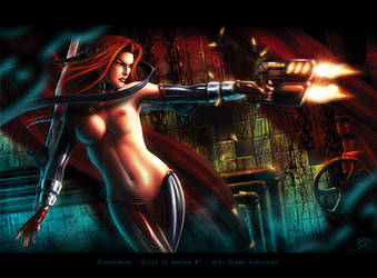 Girls of Gaming 7 - Bloodrayne by Diego-Rodriguez